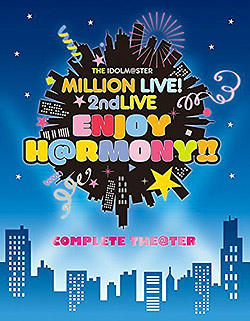 "THE IDOLM@STER MILLION LIVE!2ndLIVE ENJOY H@RMONY!!Blu-ray""COMPLETE THE@TER"" 【完全生産限定】(Blu-ray Video)"