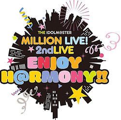 THE IDOLM@STER MILLION LIVE!2ndLIVE ENJOY H@RMONY!!Blu-ray DAY2(Blu-ray Video)