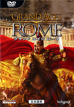 GRAND AGES ROME �O�����h �G�C�W ���[�} ��{��ŁiDVD-ROM�j