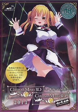 カスタムメイド3D スキルパック2 2013