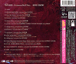 ave;new5thオリジナルフルアルバム「Glam」/ave;new 初回盤 -Crimson ReD Ver.-