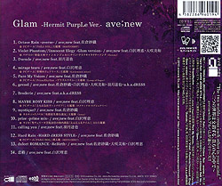 ave;new5thオリジナルフルアルバム「Glam」/ave;new 通常盤 -Hermit PurpLe Ver.-